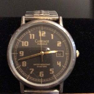 Timex carriage men's watch